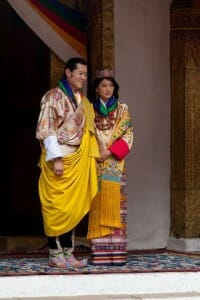 Bhutan's King and Queen