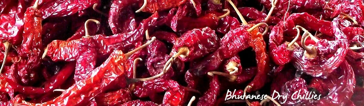 Bhutanese Love Their Dried Red Chillies - Ema Datshi