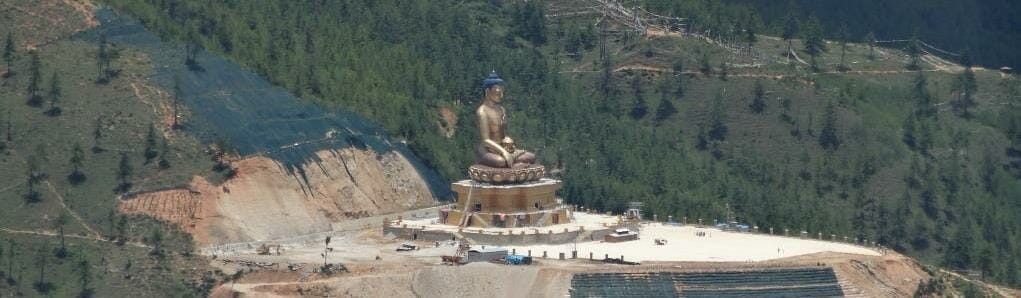 Bhutan-Tallest Sitting Buddha in the World