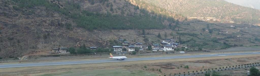 Bhutan Paro International Airport